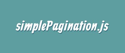 jQuery Pagination Plugin